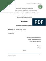 Proyecto #5 Herramientas de Inteligencia de Negocios (De León, Núñez, Sarría)