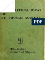 POLITICAL IDEAS OF ST.T.AQUINAS