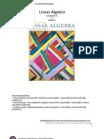Week 1_Linear Algebra