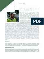 Shahid Afridi Profile