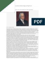 A Bela Carta de Charles Hodge Ao Papa Pio IX
