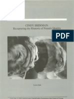 Cindy Sherman