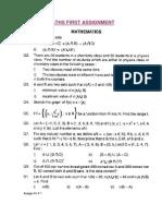 maths class 11