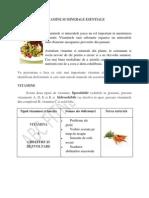 Vitamine Si Minerale Esentiale