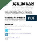 Consumer Privacy Attitudes & Online Marketing