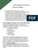 QUÉ CUIDADO INFANTIL QUEREMOS EN URUGUAY
