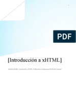 Introducción a xhtml
