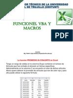 Funciones VBA Macros
