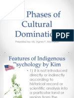 Six Phases of Cultural Domination