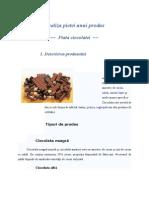 Analiza Pietei Unui Produs - Piata Ciocolatei