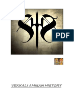 Vekkali Amman History in Tamil