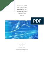 Economics Stock Market Project