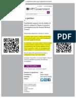 E-petition GMC Doctors Suicides