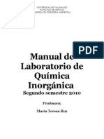 Manual de Lab. Inorganica