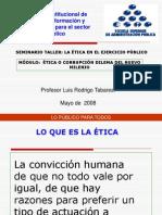 Material Conferencia Etica
