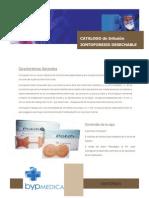 Catalogo de Iontoforesis