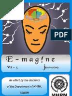 E-magazine of the Department of MHRM, IISWBM_June09