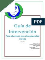Guia Intervencion Educativa Alumnos Discapacidad Motriz