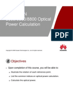 4. OptiX OSN 380068008800 Optical Power Calculation ISSUE 1.11