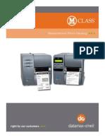 Datamax M-Class Parts List