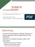 Epid Intro_Prof Bhisma