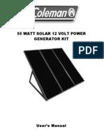 55 w Kit Coleman Manual