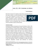 Portugal Nos Seculos XVI e XVII Vicissitudes Da