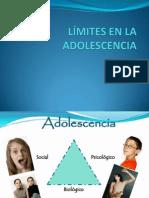 Limites en la adolescencia