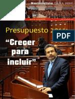 Boletín N° 12 Bancada Nacionalista Gana Perú
