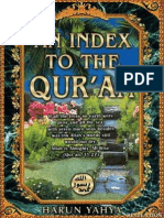 An Index to Quran by Harun Yahya (Alphabetical book marks)