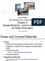 ME 3230 Chapter 9 Spatial Modeling
