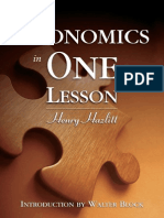 Economics in One Lesson (MU Excerpts)