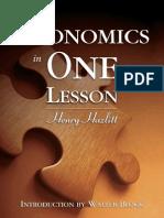 Economics in One Lesson (MU Excerpts)