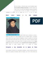 Biografía de Martín Lutero 2