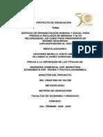 SERVICIO DE REHABILITACIÓN HUMANA Y SOCIAL - D-38667
