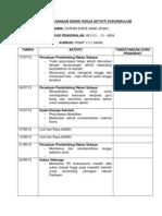 Jadual Pelaksanaan Gerak Kerja Aktiviti Kokurikulum