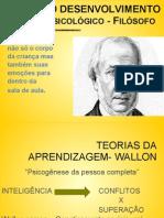 Teorias Da Aprendizagem - Wallon