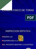 inspeccion de torax