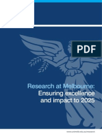 Melbourne University Research Visions