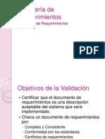 Ingeniería de  Requerimientos - Unidad 4 Validación de Requerimientos