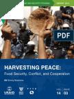 Harvesting Peace