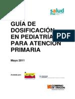 guia dosificación pediatria