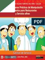 Manual Buenas Prácticas de Manipulación de Alimentos para Restaurantes
