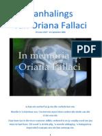 Aanhalings van Oriana Fallaci