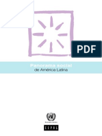 Cepal - Panorama Social de America Latina
