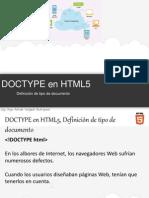 13 Doctype Html5 Definicion de Tipo de Documento