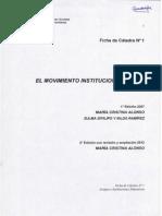 Grupos e Instituciones FICHA de CATEDRA