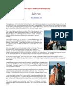 Jumbo Squid Attack Off Bodega Bay