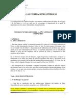 NORMAS UNIVERSALES SOBRE EL AÑO LITÚRGICO Y SOBRE EL CALENDARIO - copia