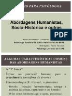 Teorias Humanistas 2